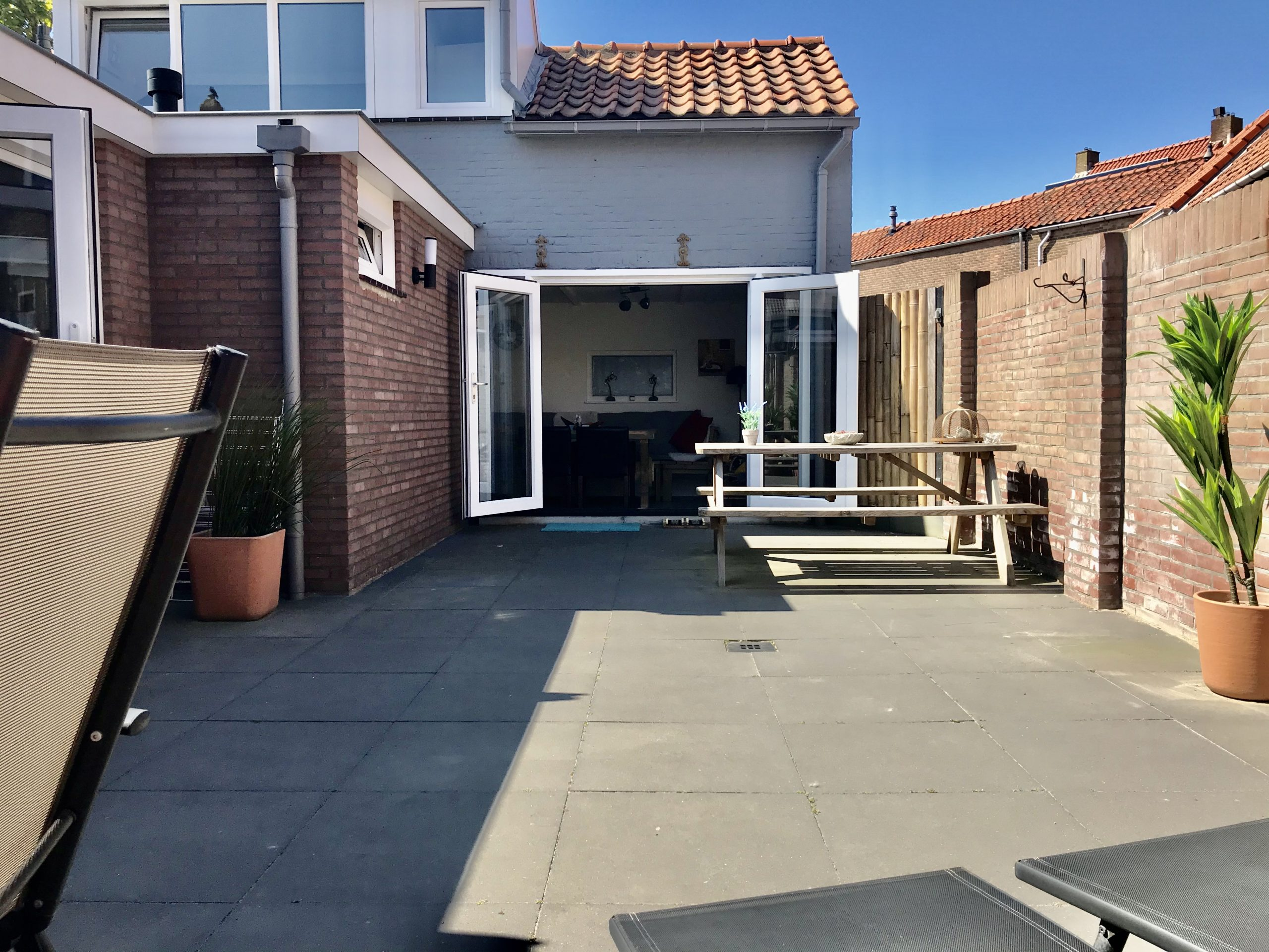 tuin 6 pers huis 5